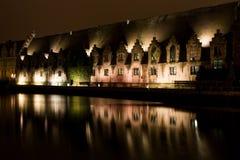 gent νύχτα Στοκ Φωτογραφία
