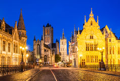 Gent, Bélgica Imagem de Stock Royalty Free