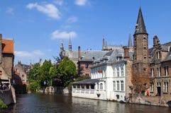 In Gent, België Stock Foto's