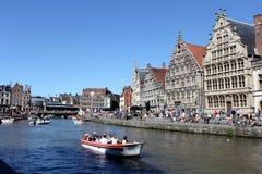 Gent, België stock foto's