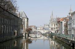 Gent, Belgio fotografie stock libere da diritti