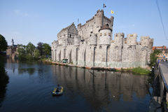 Gent castle Stock Photo