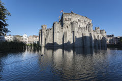 Gent castle Royalty Free Stock Photos