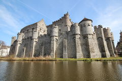 Gent castle Stock Images