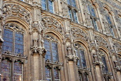Gent Cathedral Windows Royalty Free Stock Photos