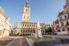 Gent city in Belgium Stock Photography