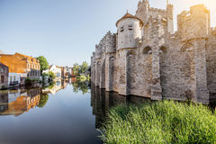 Gent city in Belgium Royalty Free Stock Photos