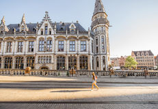 Gent city in Belgium Stock Images