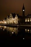 Gent em Noite Foto de Stock Royalty Free