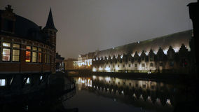 Gent in the evening. Stock Photography