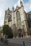 Gent - fasada Baaf's Świątobliwa Katedra Zdjęcie Stock