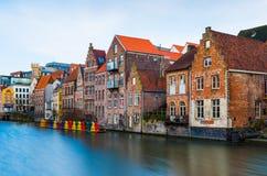 Gent Ghent, Belgia Zdjęcia Royalty Free