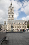 Gent - Gothic Town hall or Belfort van Gent Royalty Free Stock Image