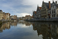 Gent historical buildings Royalty Free Stock Photo