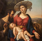 Gent - Holy Family  from Saint Peter s church Royalty Free Stock Photo
