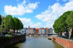 Gent i swój kanały Zdjęcia Royalty Free