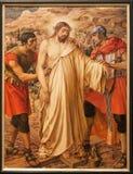 Gent - Jezus dla krzyżowania Fotografia Stock