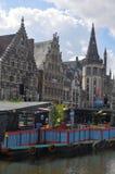 Gent kanał Obraz Royalty Free