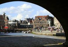 Gent-Kanal lizenzfreie stockbilder