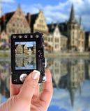 Gent-Kanal lizenzfreies stockfoto