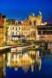 Gent, Mijnheer, België stock fotografie