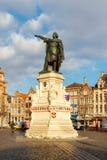 gent Monument aan Jacob van Artevelde Royalty-vrije Stock Afbeeldingen