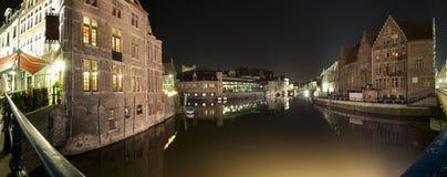 Gent panorama Zdjęcia Royalty Free