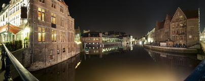 Gent panorama Royalty Free Stock Photos