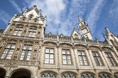 Gent - Post palace in morning light Royalty Free Stock Photography