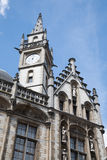 Gent - Post palace in morning light Royalty Free Stock Photos