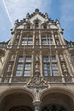 Gent - Post palace in morning light Royalty Free Stock Image