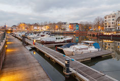 Gent. River Leie Stock Photography
