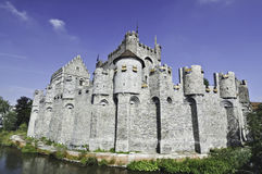 Gent-Schloss Stockfotografie