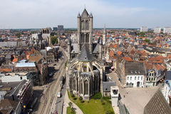 Ghent Cathedral - Belgium Stock Photo