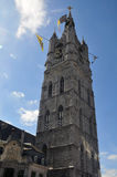 Gent tower Royalty Free Stock Photo