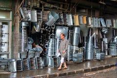 Gente Alepo Fotografía de archivo