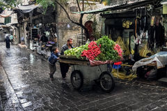 Gente Alepo Imagen de archivo libre de regalías