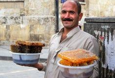 Gente Alepo Foto de archivo