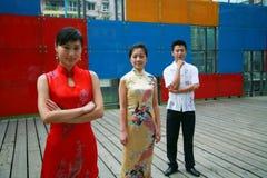 Gente asiatica Fotografie Stock