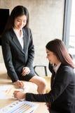 Gente asiatica nella riunione Immagine Stock Libera da Diritti