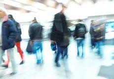 Gente, borrosa Imagen de archivo libre de regalías