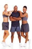 Gente in buona salute di forma fisica Fotografie Stock