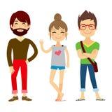 Gente casual joven ilustración del vector