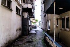 Gente común y calles de la ciudad de Cinarcik - Turquía Fotografía de archivo libre de regalías