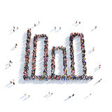 Gente 3d del gráfico Foto de archivo libre de regalías