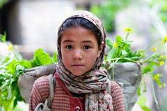 Gente de Balti, Ladakh Fotografía de archivo