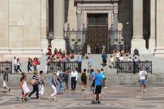Gente de Budapest Imágenes de archivo libres de regalías
