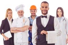 Gente de diversas profesiones Imagen de archivo libre de regalías