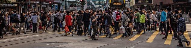 Gente de Hong Kong fotos de archivo libres de regalías