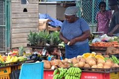 GENTE DE JAMAICA Fotos de archivo